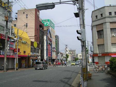 福知山駅周辺