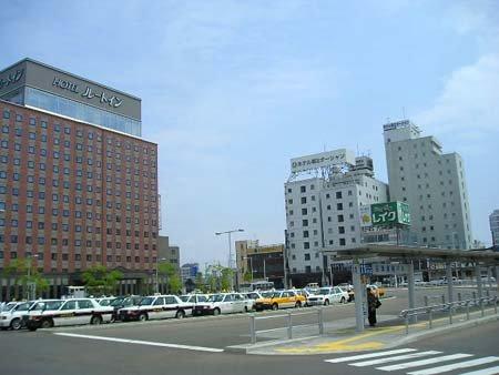函館駅~十字街~五稜郭