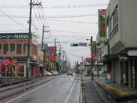 角田駅~本町