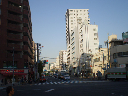 四ツ目通り・東陽町駅前交差点 ...