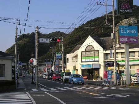 松崎町役場周辺