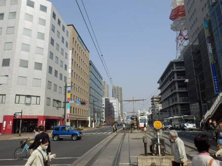 岡山駅~表町