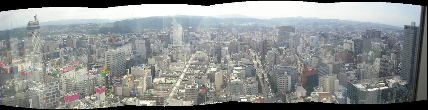 仙台市パノラマ画像