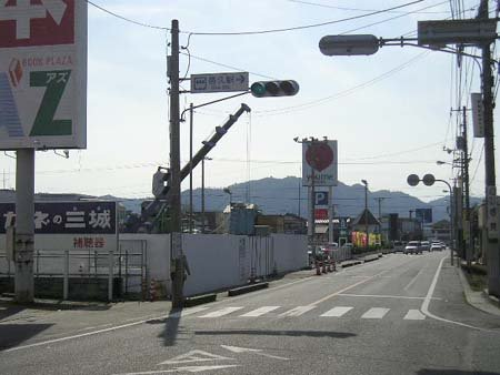 県道223号線・JR邑久駅の ...